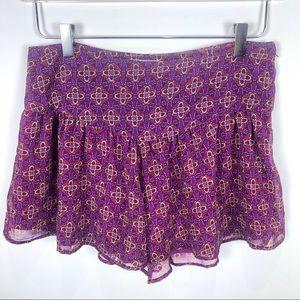 band of gypsies flowy floral Shorts